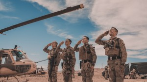 Operation Red Sea salute